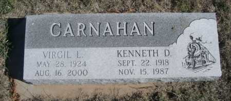 CARNAHAN, VIRGIL L. - Dawes County, Nebraska | VIRGIL L. CARNAHAN - Nebraska Gravestone Photos