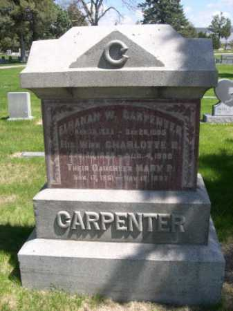 CARPENTER, CHAROLOTTE B. - Dawes County, Nebraska | CHAROLOTTE B. CARPENTER - Nebraska Gravestone Photos