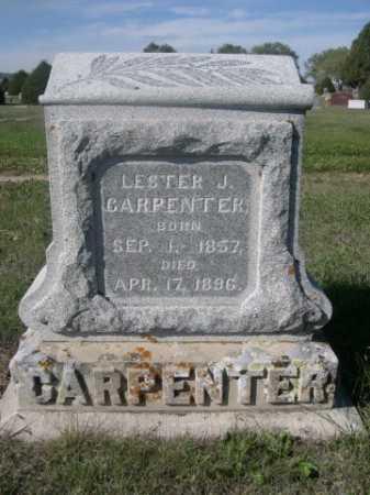 CARPENTER, LESTER J. - Dawes County, Nebraska | LESTER J. CARPENTER - Nebraska Gravestone Photos