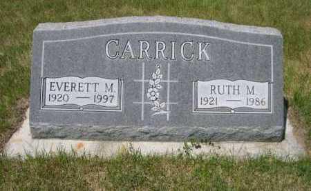 CARRICK, EVERTT M. - Dawes County, Nebraska | EVERTT M. CARRICK - Nebraska Gravestone Photos