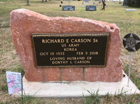 CARSON, RICHARD E - Dawes County, Nebraska | RICHARD E CARSON - Nebraska Gravestone Photos