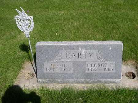 CARTY, GEORGE H. - Dawes County, Nebraska | GEORGE H. CARTY - Nebraska Gravestone Photos