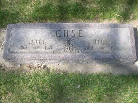 CASE, MAUDE - Dawes County, Nebraska | MAUDE CASE - Nebraska Gravestone Photos