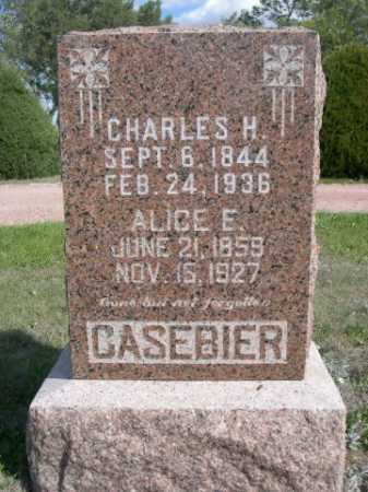 CASEBIER, CHARLES H. - Dawes County, Nebraska | CHARLES H. CASEBIER - Nebraska Gravestone Photos