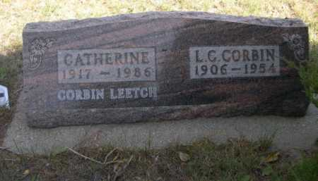 CORBIN, CATHERINE - Dawes County, Nebraska | CATHERINE CORBIN - Nebraska Gravestone Photos