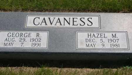 CAVANESS, HAZEL M. - Dawes County, Nebraska | HAZEL M. CAVANESS - Nebraska Gravestone Photos