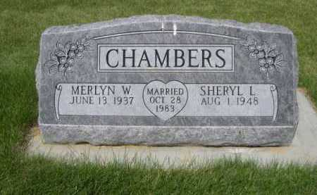 CHAMBERS, MERLYN W. - Dawes County, Nebraska | MERLYN W. CHAMBERS - Nebraska Gravestone Photos