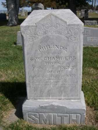 CHAMBERS, PHILINDA - Dawes County, Nebraska | PHILINDA CHAMBERS - Nebraska Gravestone Photos