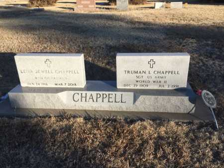 CHAPPELL, TRUMAN L - Dawes County, Nebraska | TRUMAN L CHAPPELL - Nebraska Gravestone Photos