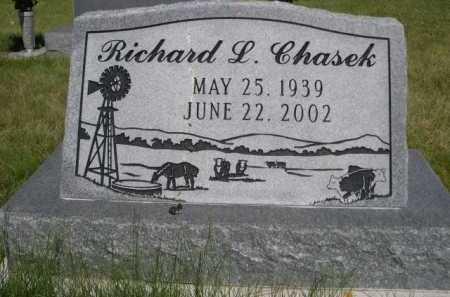 CHASEK, RICHARD L. - Dawes County, Nebraska   RICHARD L. CHASEK - Nebraska Gravestone Photos