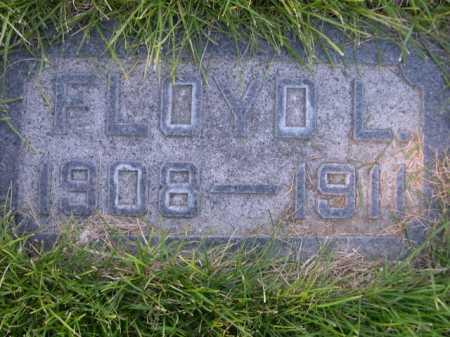 CHAULK, FLOYD L. - Dawes County, Nebraska   FLOYD L. CHAULK - Nebraska Gravestone Photos