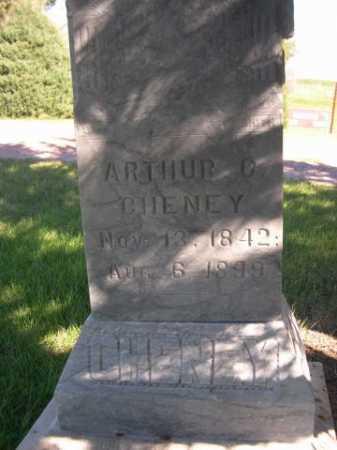 CHENEY, ARTHUR C. - Dawes County, Nebraska   ARTHUR C. CHENEY - Nebraska Gravestone Photos