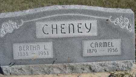 CHENEY, CARMEL - Dawes County, Nebraska | CARMEL CHENEY - Nebraska Gravestone Photos