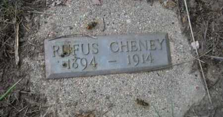 CHENEY, RUFUS - Dawes County, Nebraska | RUFUS CHENEY - Nebraska Gravestone Photos