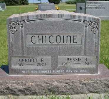 CHICOINE, BESSIE B. - Dawes County, Nebraska | BESSIE B. CHICOINE - Nebraska Gravestone Photos