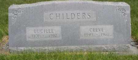 CHILDERS, LUCILLE - Dawes County, Nebraska   LUCILLE CHILDERS - Nebraska Gravestone Photos