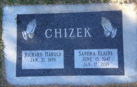CHIZEK, RICHARD HAROLD - Dawes County, Nebraska | RICHARD HAROLD CHIZEK - Nebraska Gravestone Photos
