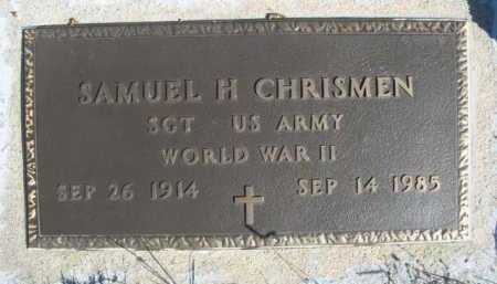 CHRISMEN, SAMUEL H. - Dawes County, Nebraska   SAMUEL H. CHRISMEN - Nebraska Gravestone Photos