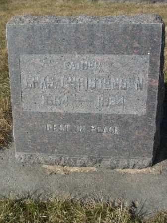 CHRISTENSEN, CHAS. - Dawes County, Nebraska | CHAS. CHRISTENSEN - Nebraska Gravestone Photos