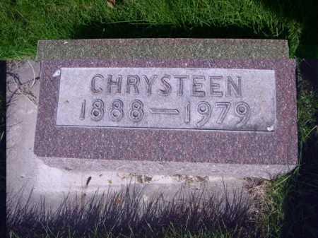 CHRISTENSEN, CHRYSTEEN - Dawes County, Nebraska | CHRYSTEEN CHRISTENSEN - Nebraska Gravestone Photos
