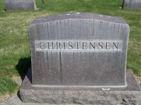 CHRISTENSEN, FAMILY - Dawes County, Nebraska | FAMILY CHRISTENSEN - Nebraska Gravestone Photos
