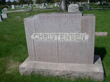 CHRISTENSEN, FAMILY - Dawes County, Nebraska   FAMILY CHRISTENSEN - Nebraska Gravestone Photos