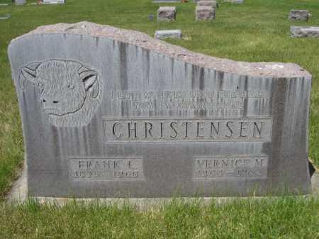 CHRISTENSEN, FRANK L. - Dawes County, Nebraska   FRANK L. CHRISTENSEN - Nebraska Gravestone Photos