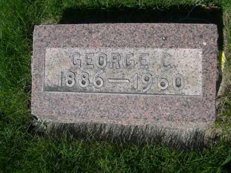 CHRISTENSEN, GEORGE C. - Dawes County, Nebraska | GEORGE C. CHRISTENSEN - Nebraska Gravestone Photos