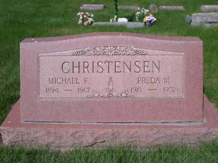 CHRISTENSEN, MICHAEL F. - Dawes County, Nebraska   MICHAEL F. CHRISTENSEN - Nebraska Gravestone Photos