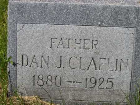 CLAFLIN, DAN J. - Dawes County, Nebraska | DAN J. CLAFLIN - Nebraska Gravestone Photos
