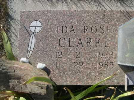 CLARKE, IDA ROSE - Dawes County, Nebraska | IDA ROSE CLARKE - Nebraska Gravestone Photos