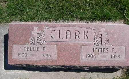 CLARK, NELLIE E. - Dawes County, Nebraska   NELLIE E. CLARK - Nebraska Gravestone Photos