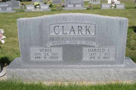 CLARK, VEREE - Dawes County, Nebraska   VEREE CLARK - Nebraska Gravestone Photos