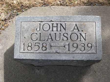 CLAUSON, JOHN A. - Dawes County, Nebraska | JOHN A. CLAUSON - Nebraska Gravestone Photos