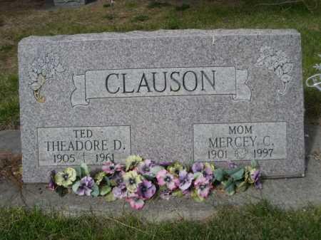"CLAUSON, THEADORE D. ""TED"" - Dawes County, Nebraska | THEADORE D. ""TED"" CLAUSON - Nebraska Gravestone Photos"