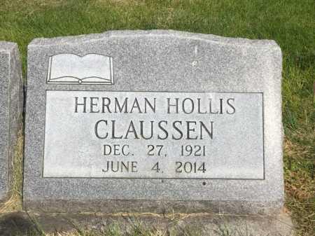 CLAUSSEN, HERMAN HOLLIS - Dawes County, Nebraska   HERMAN HOLLIS CLAUSSEN - Nebraska Gravestone Photos