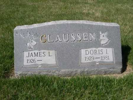 CLAUSSEN, JAMES L. - Dawes County, Nebraska | JAMES L. CLAUSSEN - Nebraska Gravestone Photos