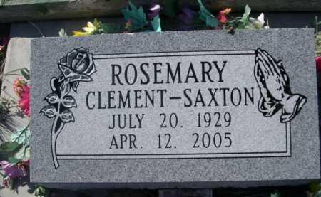 CLEMENT-SAXTON, ROSEMARY - Dawes County, Nebraska   ROSEMARY CLEMENT-SAXTON - Nebraska Gravestone Photos