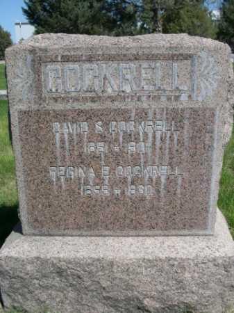 COCKRELL, REGINA E. - Dawes County, Nebraska | REGINA E. COCKRELL - Nebraska Gravestone Photos