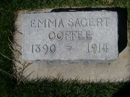 COFFEE, EMMA - Dawes County, Nebraska | EMMA COFFEE - Nebraska Gravestone Photos