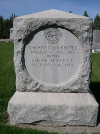 COFFEE, ELIZABETH - Dawes County, Nebraska | ELIZABETH COFFEE - Nebraska Gravestone Photos