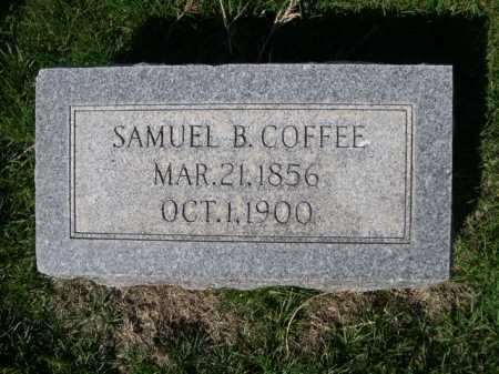 COFFEE, SAMUEL B. - Dawes County, Nebraska | SAMUEL B. COFFEE - Nebraska Gravestone Photos