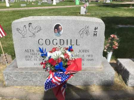 COGDILL, ALTA MAE - Dawes County, Nebraska | ALTA MAE COGDILL - Nebraska Gravestone Photos