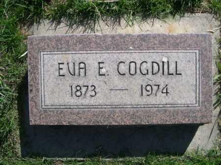 COGDILL, EVA E. - Dawes County, Nebraska | EVA E. COGDILL - Nebraska Gravestone Photos