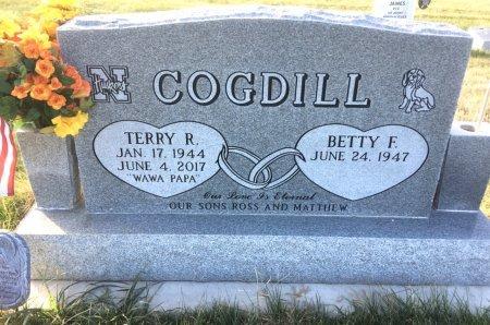 COGDILL, BETTY F - Dawes County, Nebraska | BETTY F COGDILL - Nebraska Gravestone Photos
