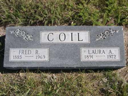 COIL, LAURA A. - Dawes County, Nebraska   LAURA A. COIL - Nebraska Gravestone Photos