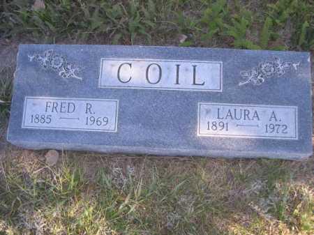 COIL, FRED R. - Dawes County, Nebraska | FRED R. COIL - Nebraska Gravestone Photos