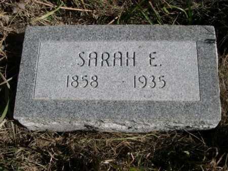 COIL, SARAH E. - Dawes County, Nebraska   SARAH E. COIL - Nebraska Gravestone Photos