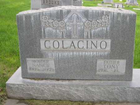 COLACINO, TONY - Dawes County, Nebraska   TONY COLACINO - Nebraska Gravestone Photos