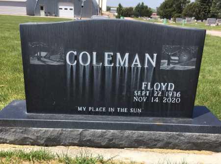 COLEMAN, FLOYD - Dawes County, Nebraska | FLOYD COLEMAN - Nebraska Gravestone Photos